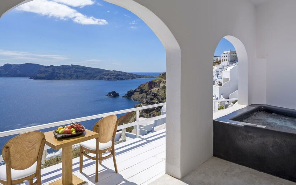 Mini Kühlschrank Pearl : White pearl villas santorini griechenland