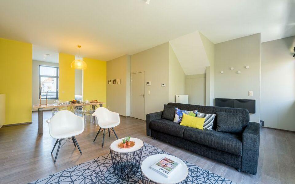Smartflats berlaymont bruxelles belgien for Design hotel belgien
