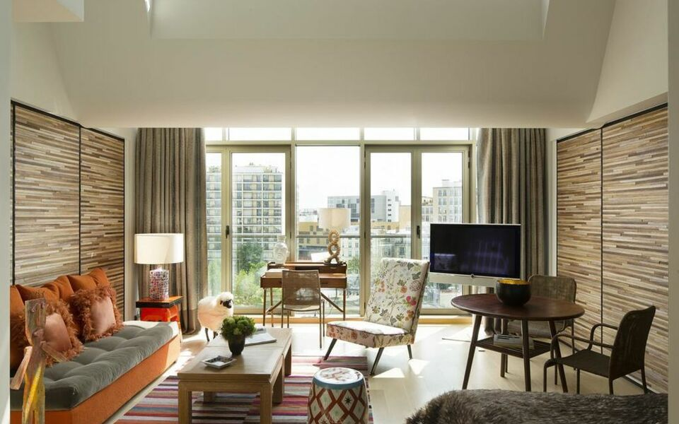 Goralska r sidences a design boutique hotel paris france for Hotel design bastille