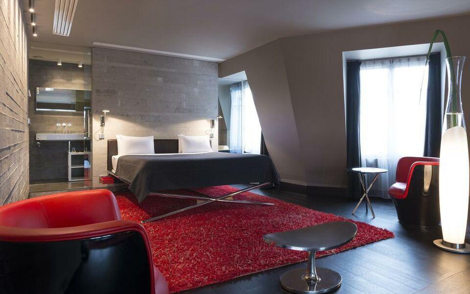Hotel sezz paris paris france my boutique hotel - Hotel paris chambre 4 personnes ...
