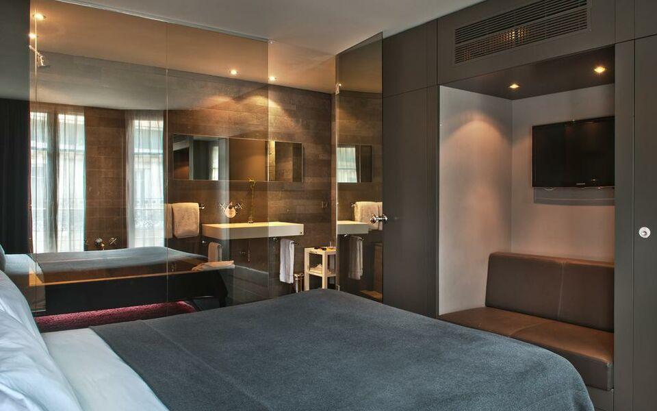 Hotel sezz paris a design boutique hotel paris france for Design hotels in france