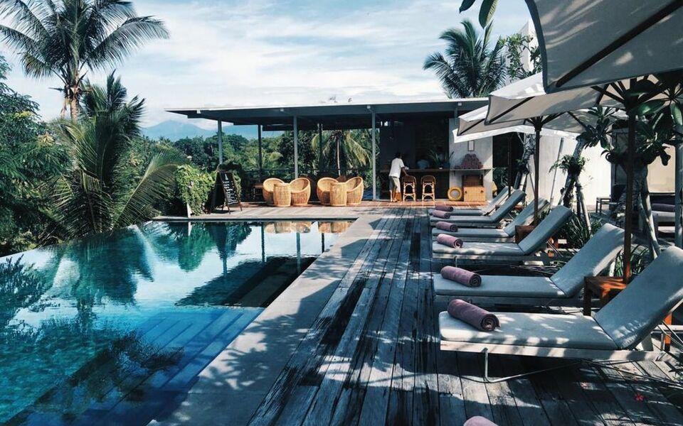 Bisma eight a design boutique hotel ubud indonesia for Design boutique hotel ubud
