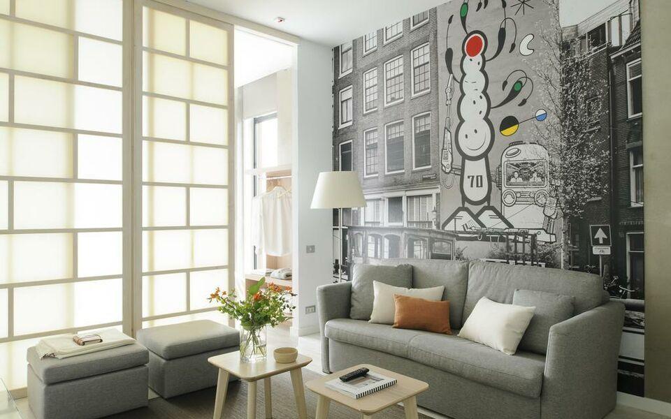 Eric v kel boutique apartments amsterdam suites a for Design boutique hotel nederland