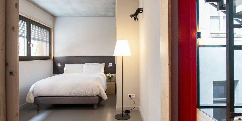 Les loges du th tre a design boutique hotel lyon france for Boutique hotel lyon