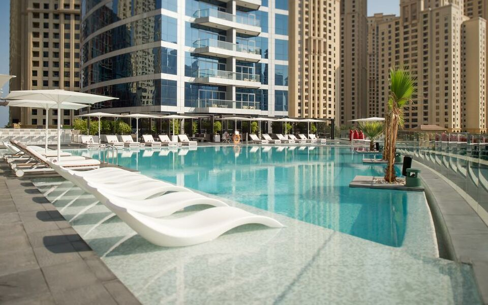 Intercontinental dubai marina dubai mirats arabes unis for Small boutique hotels dubai
