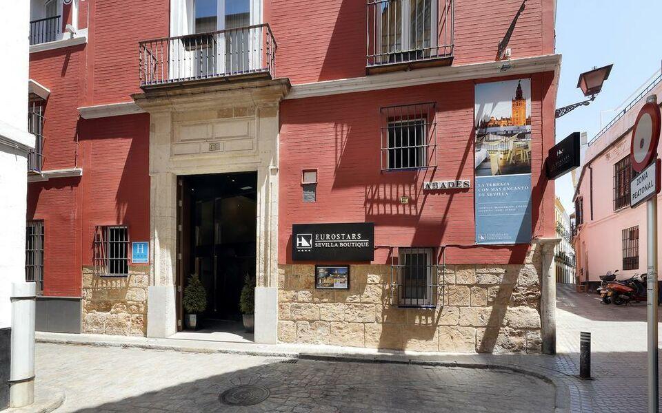 Eurostars sevilla boutique sevilla spanien for Hotel eurostar sevilla