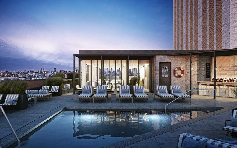 The robey a design boutique hotel chicago u s a for Top boutique hotels in chicago