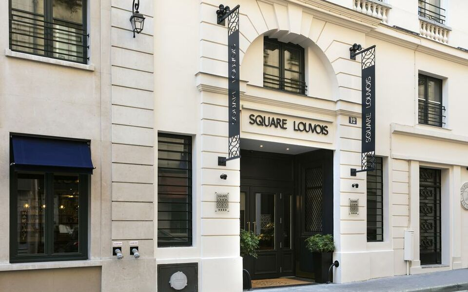 H tel square louvois a design boutique hotel paris france for Hotel paris x
