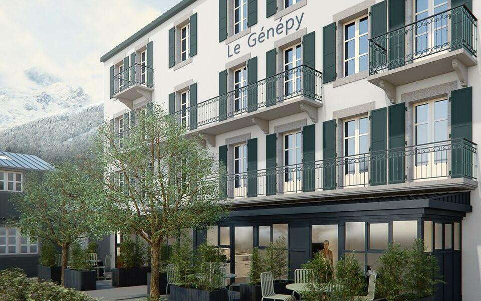 le g n py appart 39 h tel de charme a design boutique hotel chamonix mont blanc france. Black Bedroom Furniture Sets. Home Design Ideas