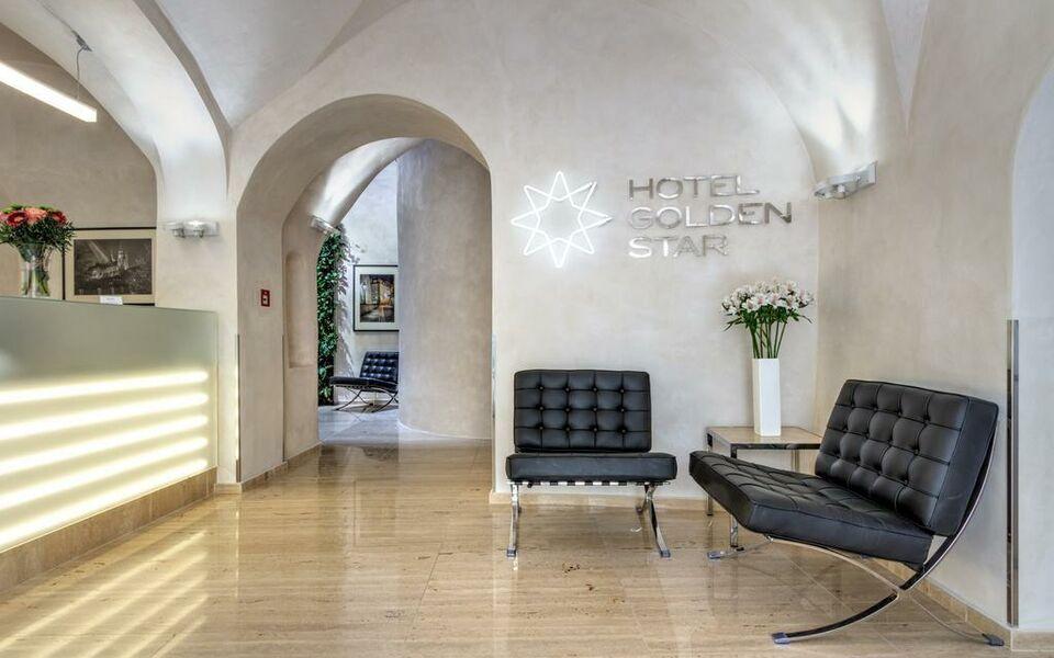 Golden star a design boutique hotel prague czech republic for Design boutique hotel prague