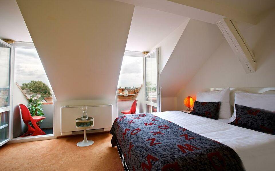 Vintage design hotel sax prague r publique tch que my for Retro design hotel