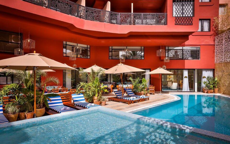 2ciels boutique h tel a design boutique hotel marrakech for Boutique hotel maroc