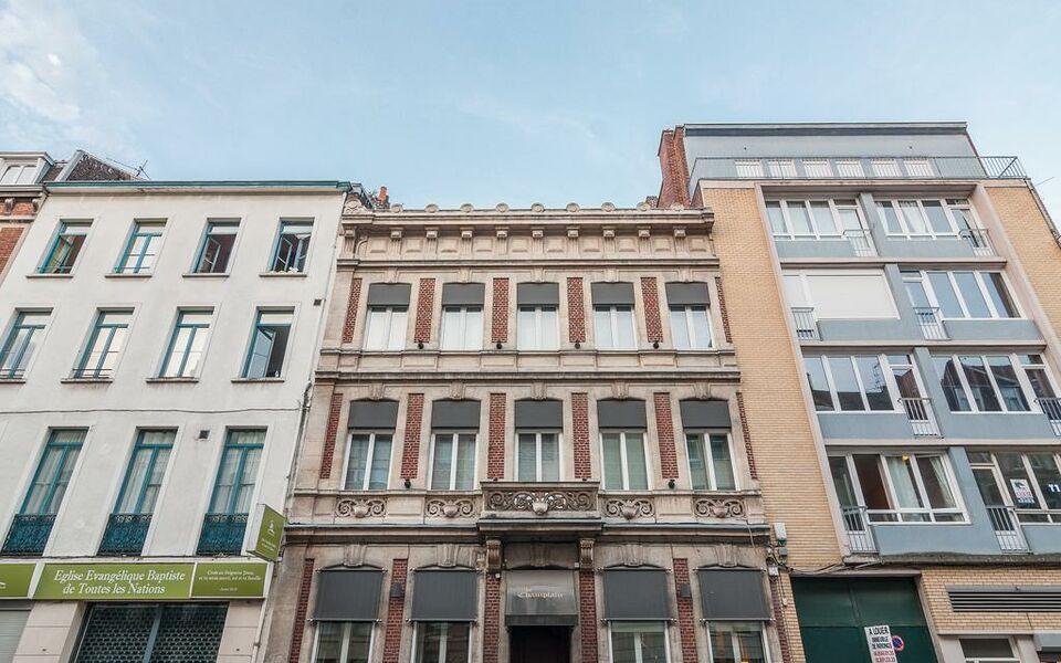 la maison du champlain chambres d 39 h tes a design boutique hotel lille france. Black Bedroom Furniture Sets. Home Design Ideas