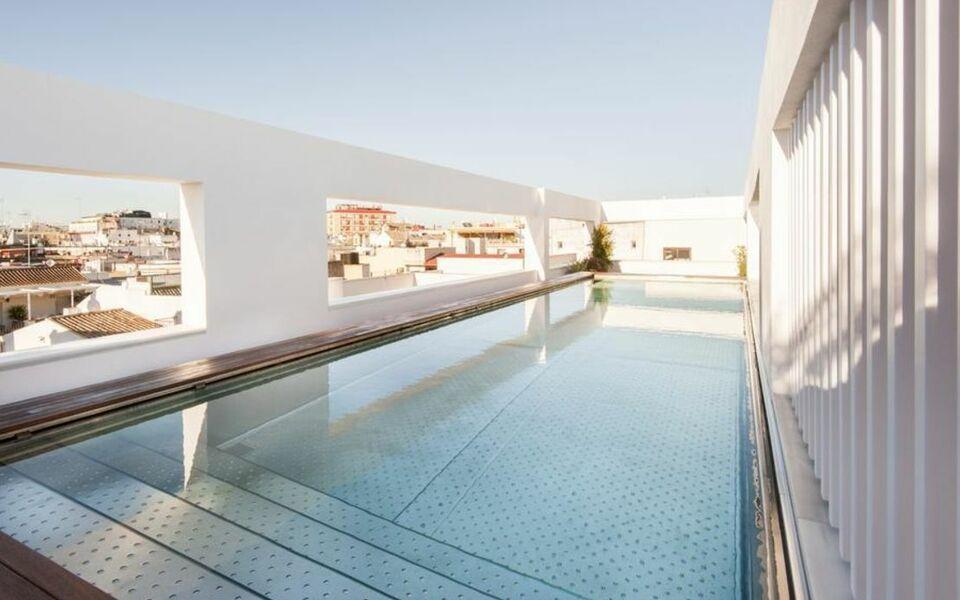 Hotel mercer sevilla s ville espagne my boutique hotel - Seville hotel piscine ...
