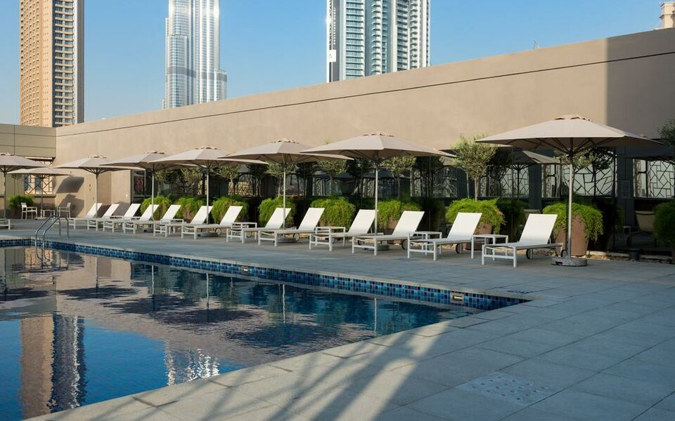 Rove downtown dubai a design boutique hotel dubai united for Boutique hotel dubai