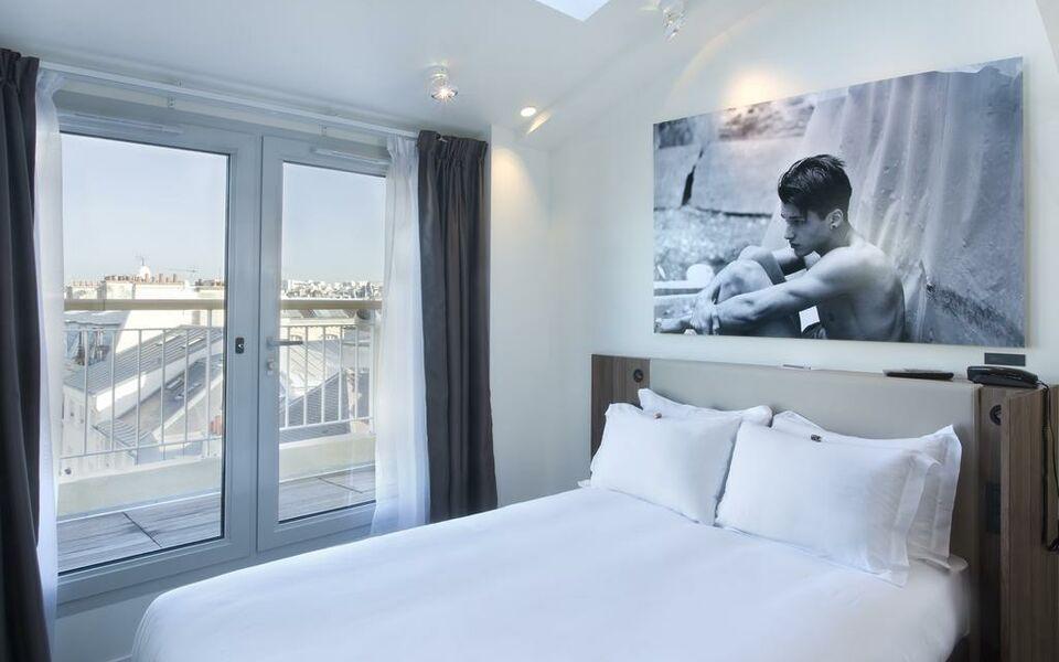 H tel jules jim a design boutique hotel paris france for Boutique hotel paris 8eme