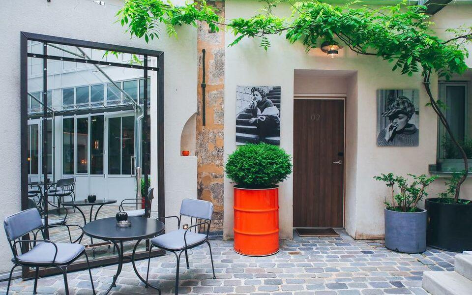 h tel jules jim a design boutique hotel paris france. Black Bedroom Furniture Sets. Home Design Ideas