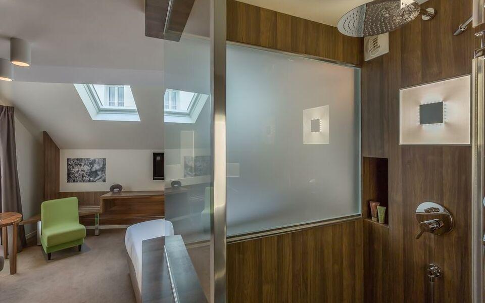H tel jules jim a design boutique hotel paris france for Hotel design 75003