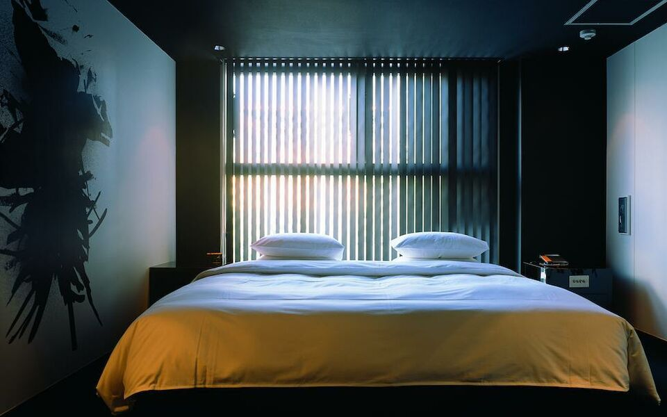 The screen a design boutique hotel kyoto japan for Best boutique hotels japan