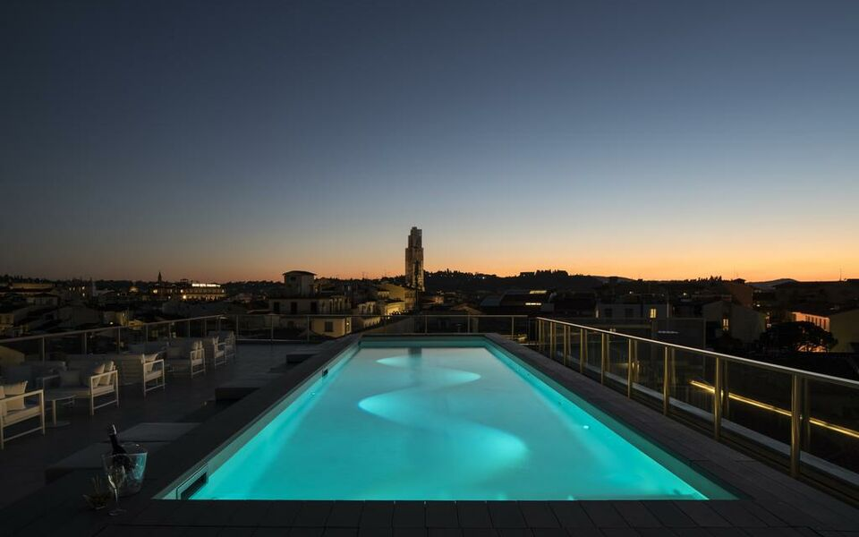 Hotel glance in florence a design boutique hotel florence for Hotel design florence italie