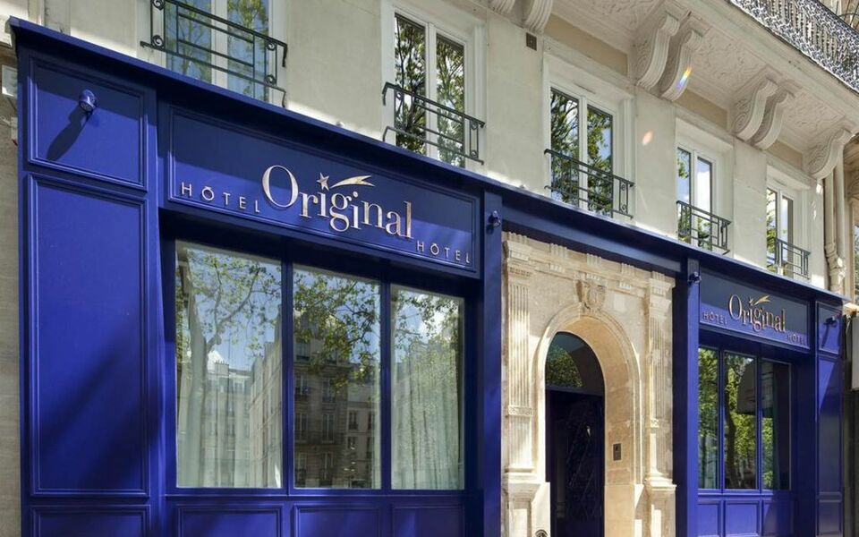H tel original paris a design boutique hotel paris france for Hotel design paris