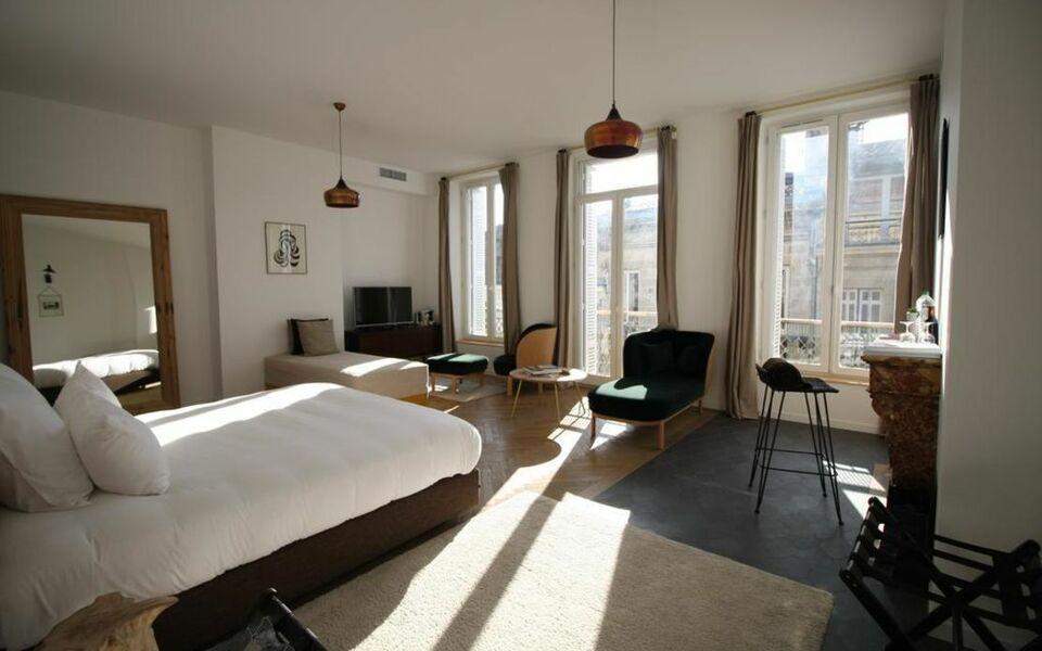 casa blanca b b bordeaux france my boutique hotel. Black Bedroom Furniture Sets. Home Design Ideas