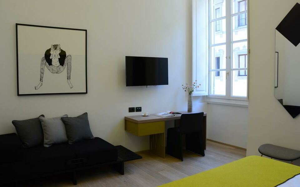 Hotel mil a design boutique hotel florence italy for Hotel design florence