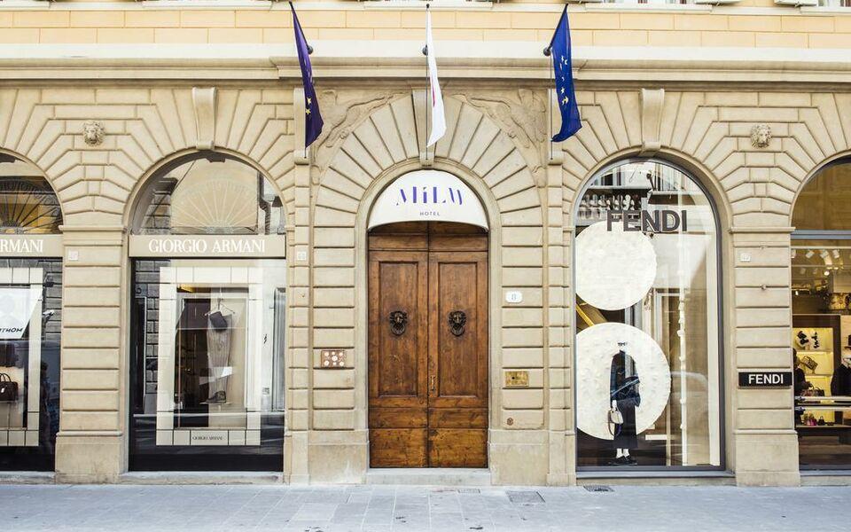 Hotel mil florenz italien for Designhotel florenz