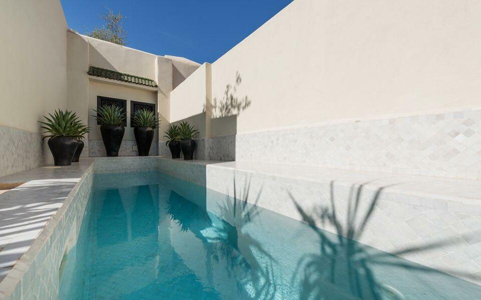 Riad kheirredine a design boutique hotel marrakech morocco for Hotel design marrakech