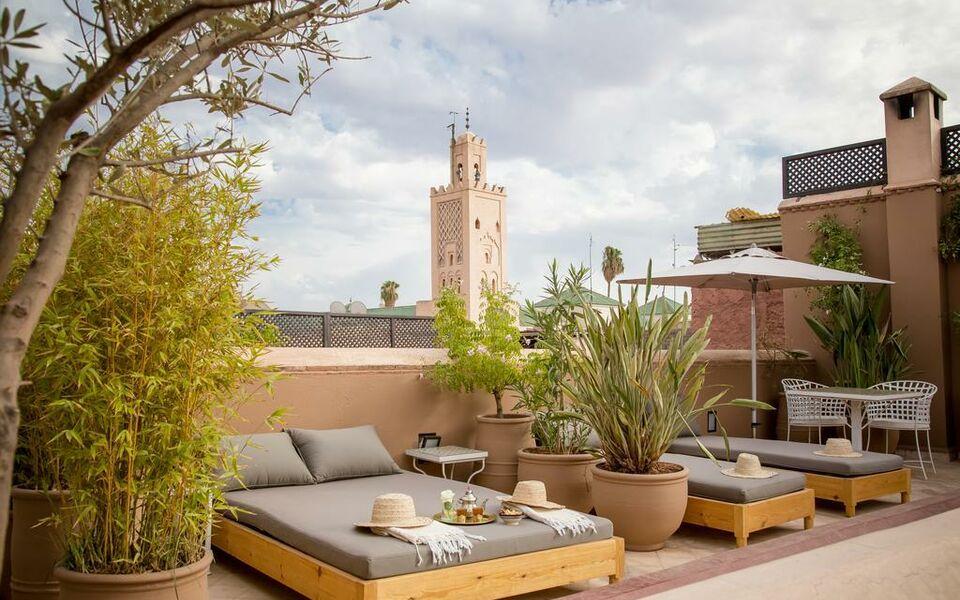Riad olema et spa marrakech marocco for 9hab sala sidi moussa