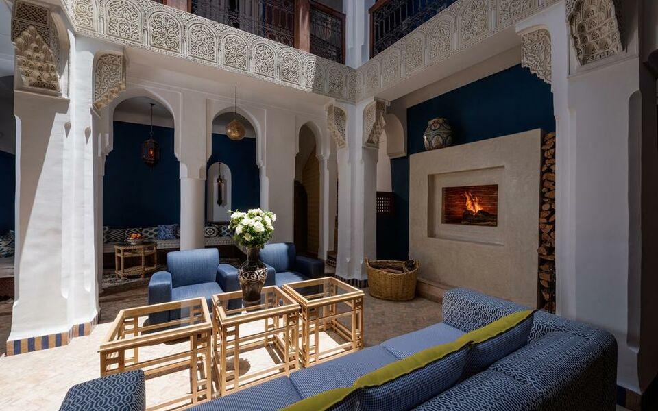 Riad les yeux bleus a design boutique hotel marrakech for Design hotel marrakech