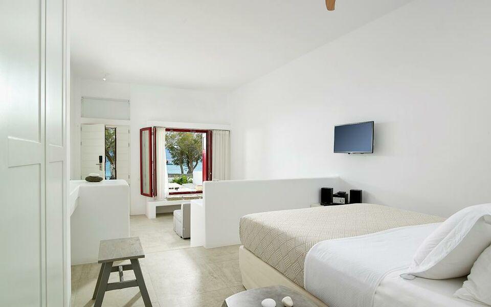 Unique milos suites a design boutique hotel milos greece for Boutique hotel milos