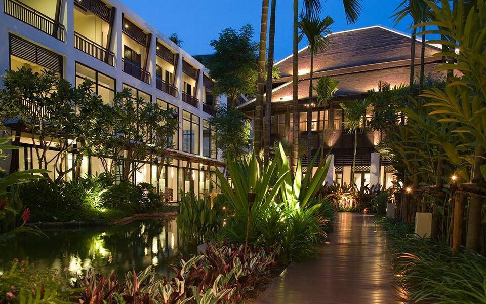 Rarin jinda wellness spa resort a design boutique hotel for Boutique hotel wellness
