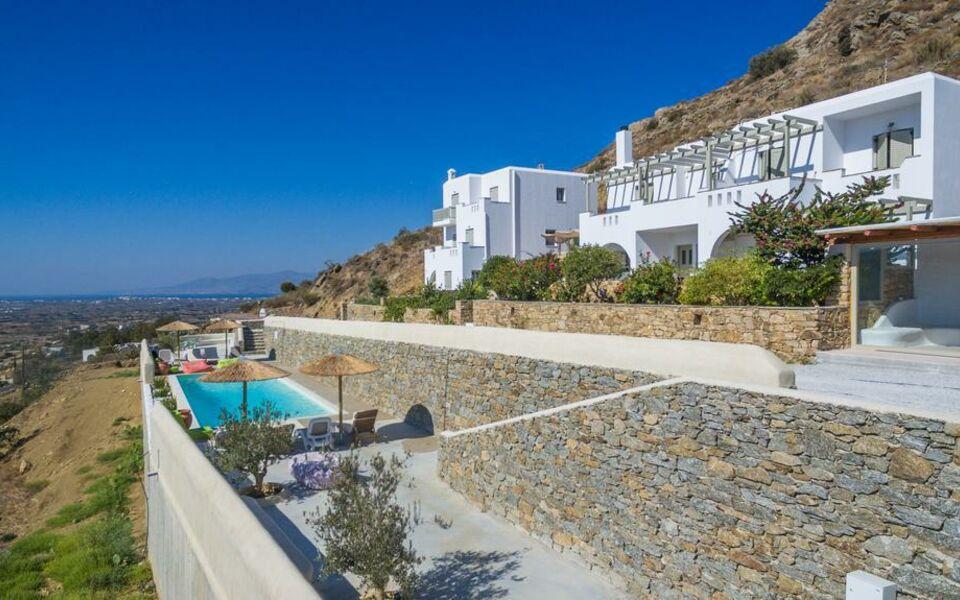 Halcyon villas naxos a design boutique hotel naxos greece for Boutique hotel naxos