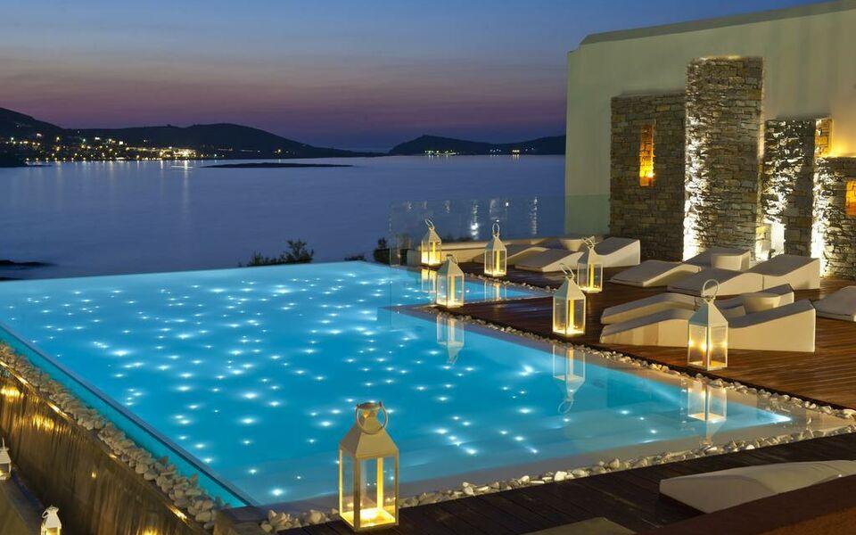 Hotel senia paros griechenland for Boutique hotel paros
