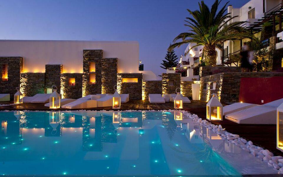 Hotel senia a design boutique hotel paros greece for Boutique hotel paros
