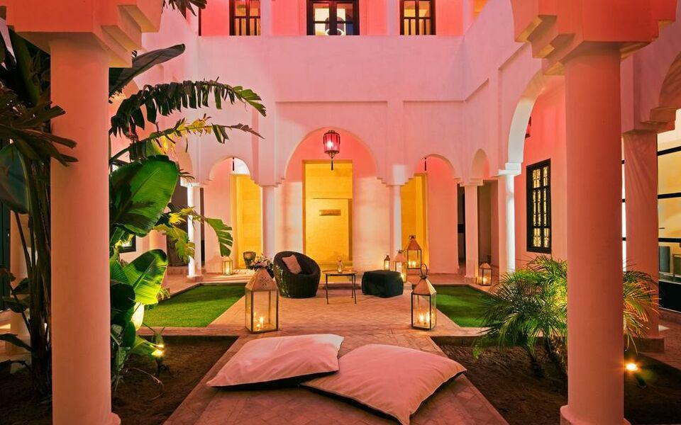 Riad capaldi a design boutique hotel marrakech morocco for Hotel design marrakech