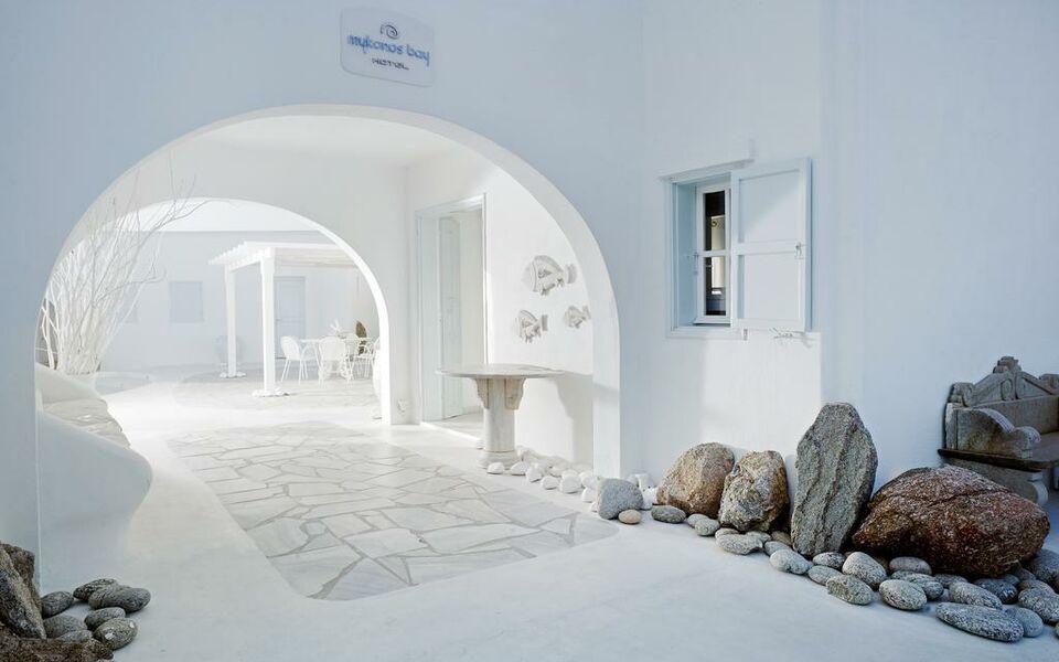 Mykonos bay hotel a design boutique hotel mykonos greece for Design boutique hotel mykonos