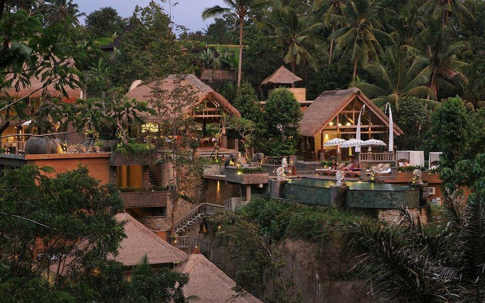 The kayon resort a design boutique hotel ubud indonesia for Design hotel ubud