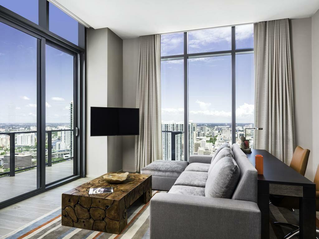 Waldorf Schlafzimmer. EAST Miami Miami Vereinigte Staaten Von Amerika