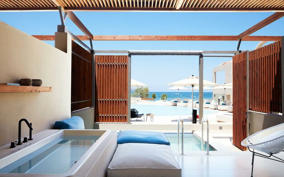 Domes noruz chania adults only a design boutique hotel for Design hotel crete