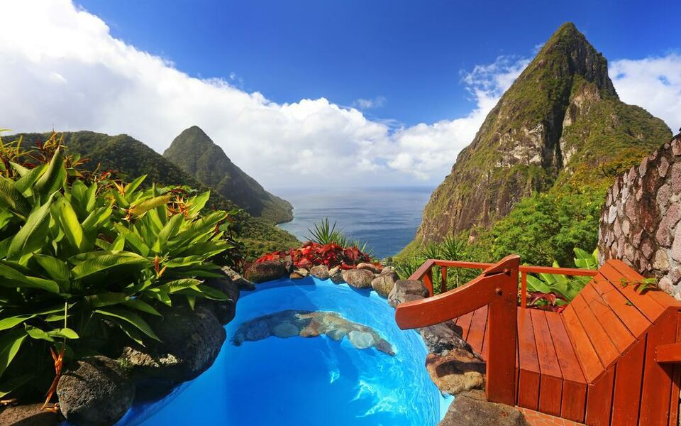 Ladera Resort St Lucia Restaurant