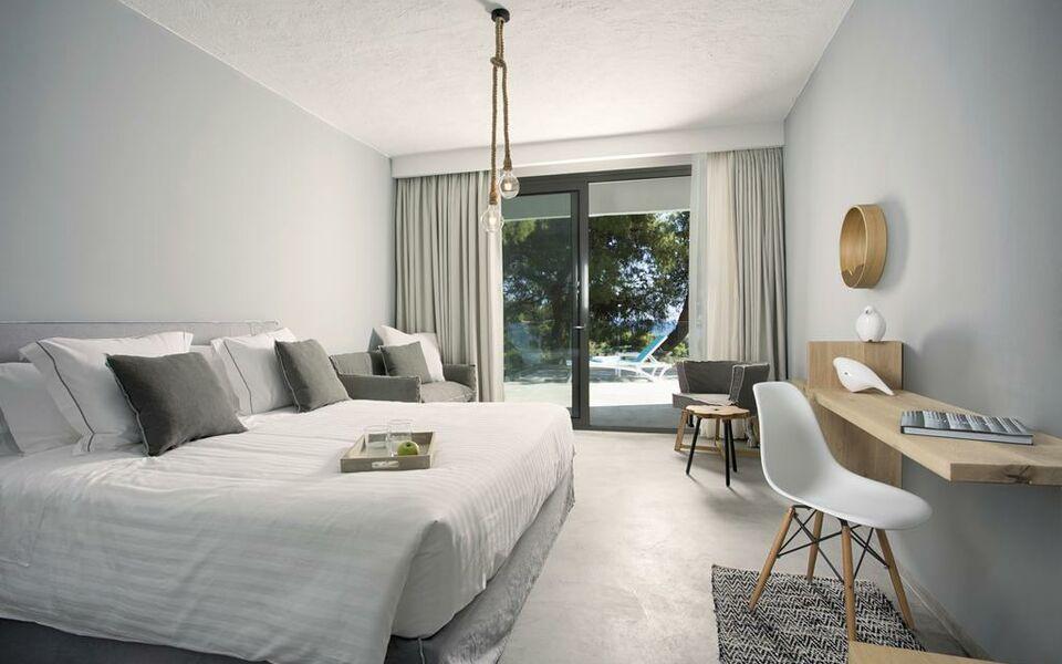 Porto carras villa kalyva mare a design boutique hotel for Porto design hotel
