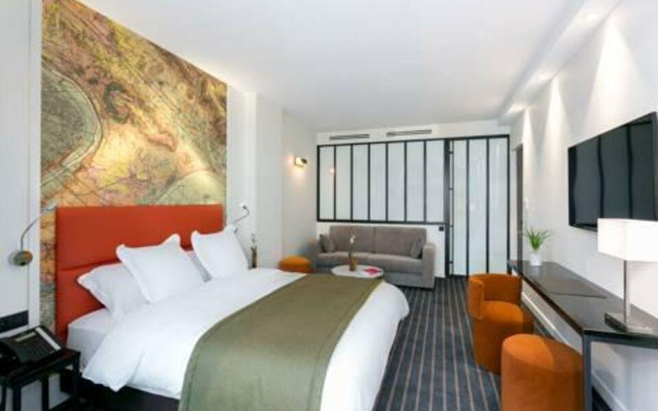 Hotel scarlett paris france my boutique hotel - Hotel paris chambre 5 personnes ...