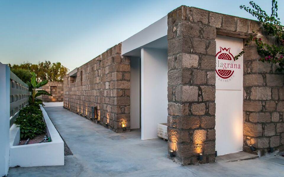 Melagrana a design boutique hotel milos greece for Boutique hotel milos
