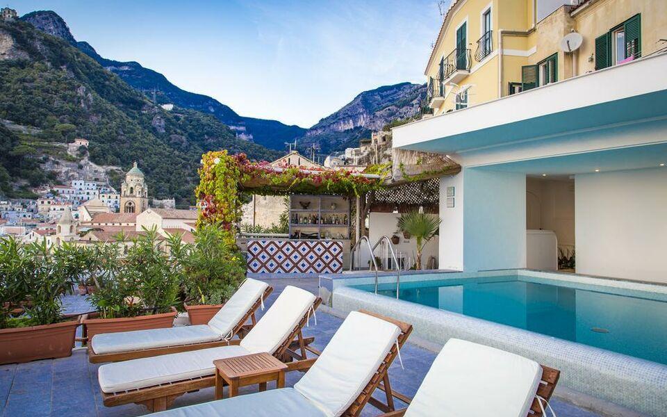 Hotel marina riviera a design boutique hotel amalfi italy for Design hotels italy