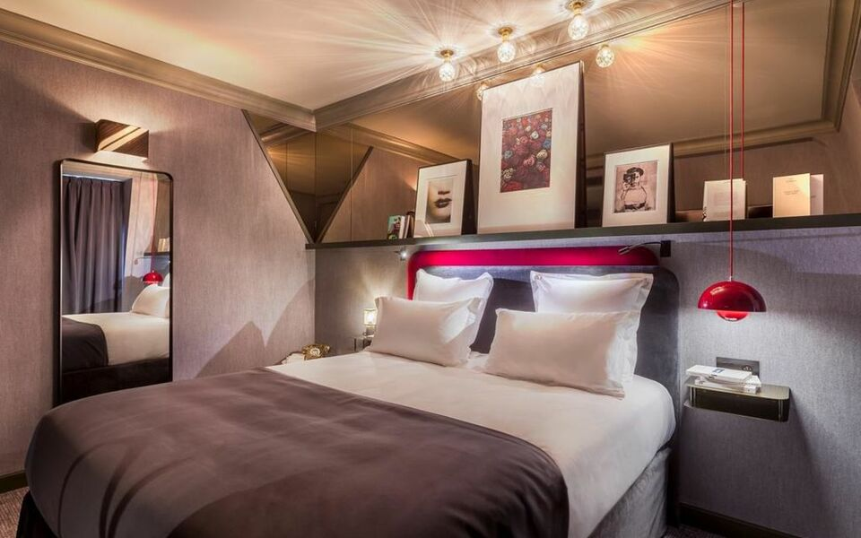 Bob hotel by elegancia a design boutique hotel paris france for Hotel design 75014