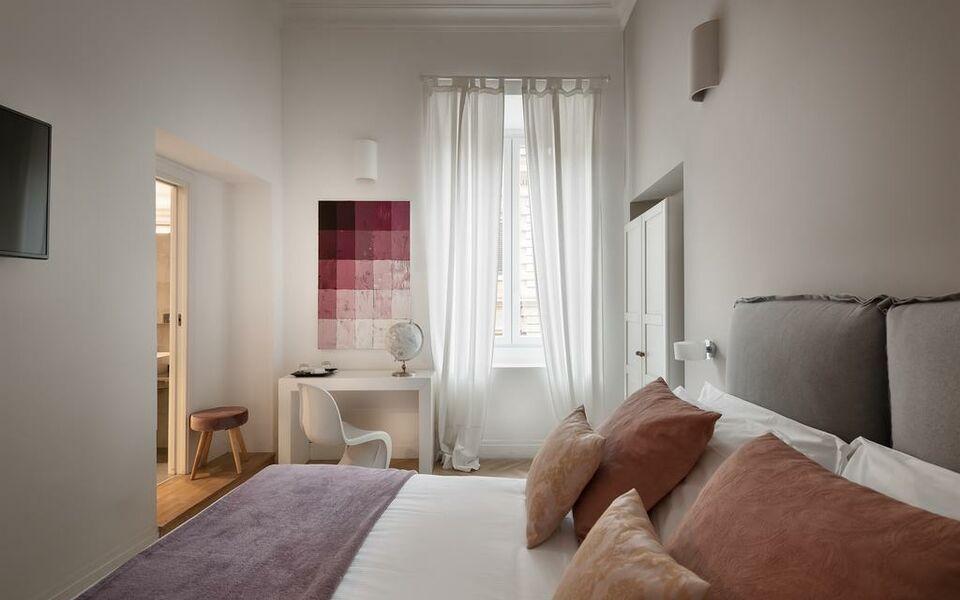 Da me suites a design boutique hotel rome italy for Design boutique hotels rome