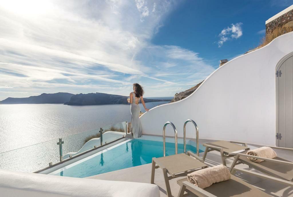 Elite luxury suites santorini grecia - Hotel con piscina privata grecia ...