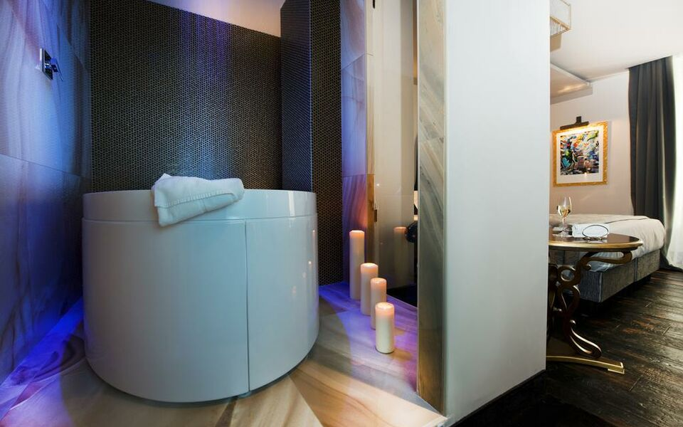 Ht6 hotel roma a design boutique hotel rome italy for Design hotel roma